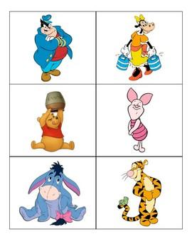 Disney Character Decorations