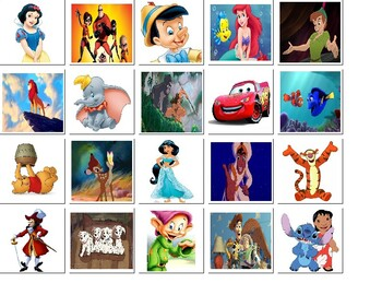 Disney Character Match