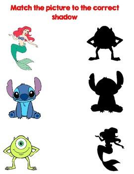 Disney Character Matching