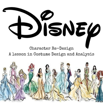 Disney Character Re-Design