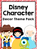 Disney Character Theme Decor Pack