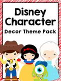 Disney Character Theme Decor Pack