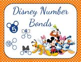Disney Characters Number Bond Practice