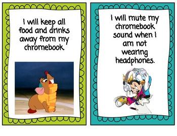 Disney Chromebook Rules