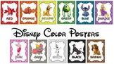 Disney Color Posters