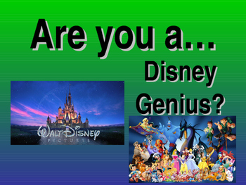 Disney Cryptic Quiz