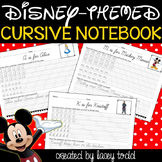 Disney Cursive Worksheets