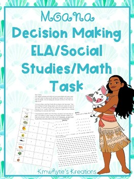 Disney Decision Making - Moana