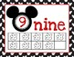 Disney Decor Classroom Numbers