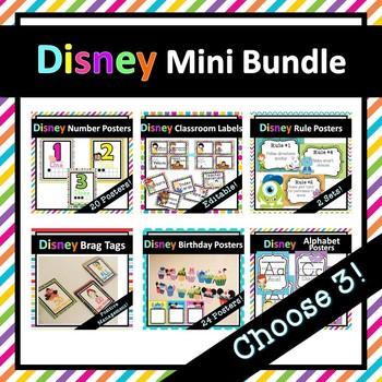 Disney Inspired Mini Bundle