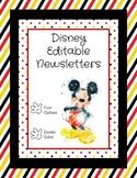 Disney Editable Newsletter Template