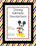 Disney Editable Newsletter Template