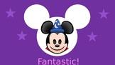 Disney Emoji Clip Chart