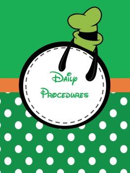 Disney Fab 5 Teacher Binder ****EDITABLE****