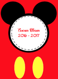 Disney Fab 5 Teacher Binder ****EDITABLE****