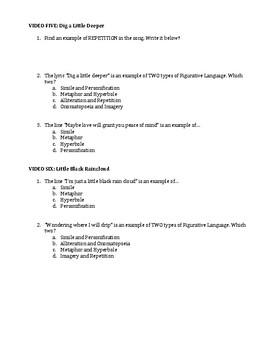 Disney Figurative Language Review Part IV