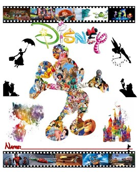 Disney Folder/Binder Cover