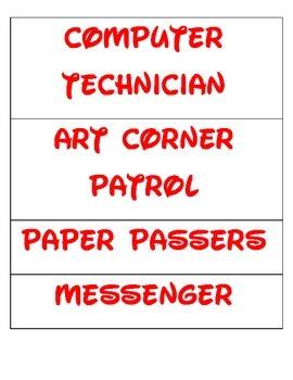 Disney Font Job Signs