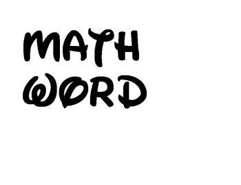 Disney Font Subject Labels