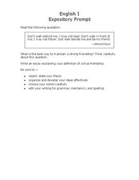 disney friendship analysis  staar expository prompt by missmacfail disney friendship analysis  staar expository prompt