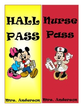 Disney Hall Passes