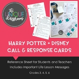 Disney + Harry Potter Call and Response Cards