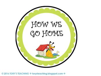 Disney How We Go Home Clip Chart