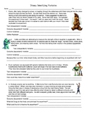 Disney Identifying Variables Worksheet