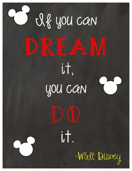 Disney Inspirational Posters
