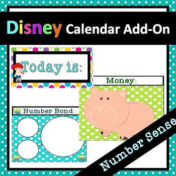Disney Inspired Calendar Add-On Pack