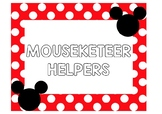 Disney Inspired Classroom Helpers