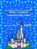 Disney Inspired Editable Student Folder Covers