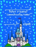 Disney Inspired Editable Student Folder Covers