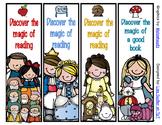 Fairy Tale Princess Bookmarks - 8 Designs