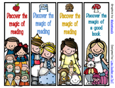 Fairy Tale Princess Bookmarks - 8 Designs