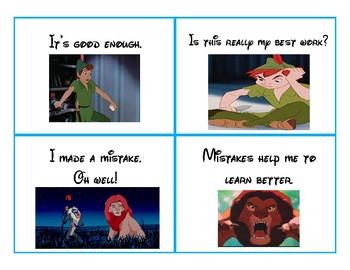 Disney Inspired Growth Mindset