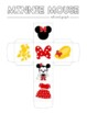 Disney Inspired Minnie Mouse Roll and Graph Activity and D