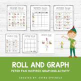 Disney Inspired Peter Pan Roll and Graph Activity and Data Sheets