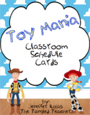 Disney Inspired Toy Story Schedule Cards (EDITABLE)
