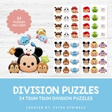 Disney Inspired Tsum Tsum Stacking Division Puzzles
