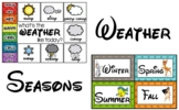 Disney Inspired Weather and Season Clip Chart