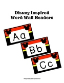 Disney Inspired Word Wall Headers