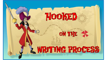 Disney Jake and the Pirates Writing Process Posters