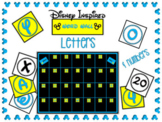 Disney-inspired Word Wall Letter & Number Cards Blue