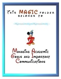 Disney MAGIC Homework and Communication Folder