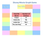 Disney Math Game