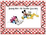 Disney Meet the Teacher Stations (Editable)