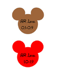 Disney Mickey Mouse AR Book Lables