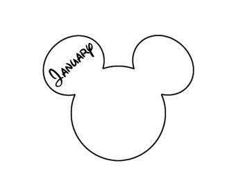 Disney Mickey Mouse Birthdays / Months
