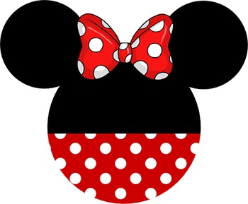 Disney Mickey and Minnie Head Decorations